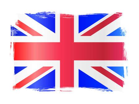 welsh flag: Grungy Bandiera onerosa del Regno Unito, Regno Unito di Gran Bretagna