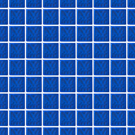 glass brick: Repeating blue glass brick wall. Tileable wallpaper that repeats left, right, up and down Stock Photo
