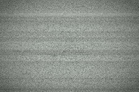 grainy: Television monitor grainy white noise signal background texture Stock Photo