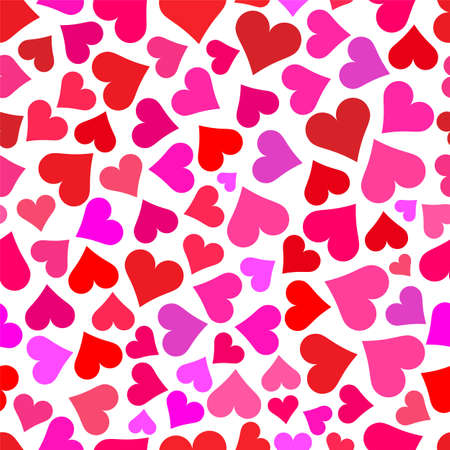 love wallpaper: Love hearts tileable wallpaper that repeats left, right, up and down