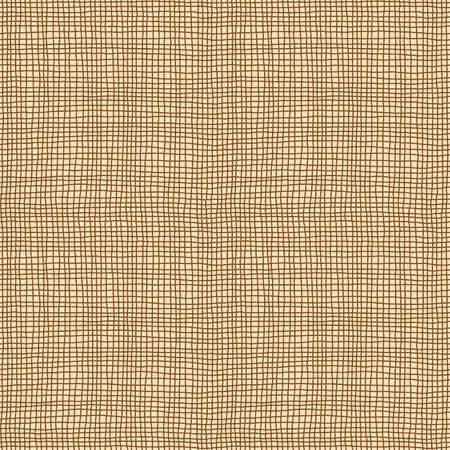 Repeating sack material background texture. Tileable vector wallpaper repeats left, right, up and down.