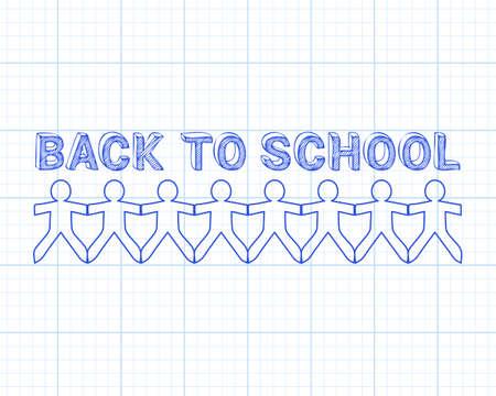 Back to school design. Ilustração
