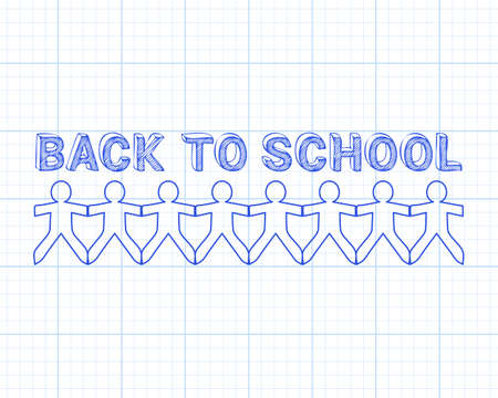 recess: Back to school design. Illustration