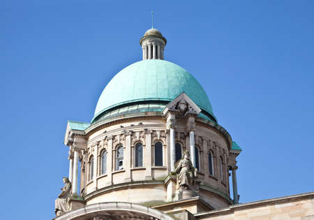Roof dome on top of the city hall in Kingston upon Hull  Stock Photo