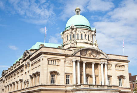 City hall in Kingston upon Hull, East Yorkshire  Stock Photo