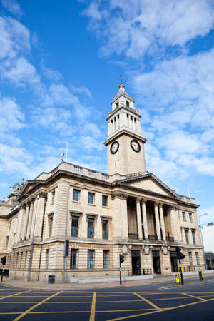 Guildhall building in Kingston upon Hull, Yorkshire  Stock Photo