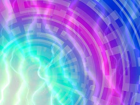 Abstract technology software development high tech screen