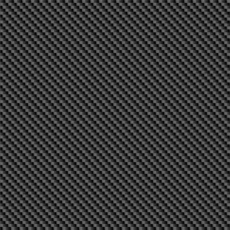 Repeating, tileable carbon fiber background illustration. Vettoriali