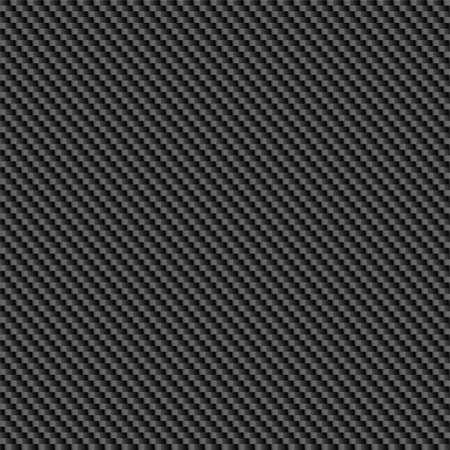 Repeating, tileable carbon fiber background illustration. Illustration
