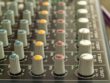 sound mixer Stock Photo - 12151436