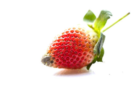 srawberries: strawbery isolated on white