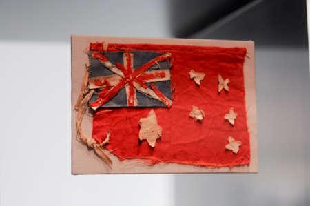 anzac: Australian national flag for Anzac army Stock Photo