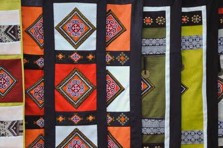 hand woven: Tradizionale abito tessuta a mano per le donne vietnamite