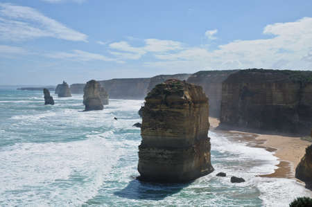 12 apostles near Great Ocean Road in Victoria Australia photo