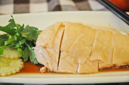 Singapur Hainanese Chicken Rice photo