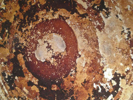 Rustic Metal Sheet Wallpaper Background Stock Photo
