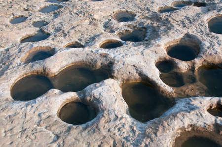 yan: Water holes on a floor Yan Ming San Taiwan