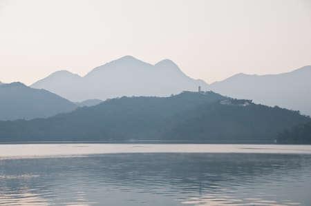 early morning: Early morning Sun Moon Lake Taiwan