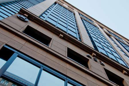 SYDNEY, AUSTRALIA - MAY 5, 2018: Corporate headquarters of ASX Australian Stock Exchange at 20 Bridge Street in Sydney NSW Australia.