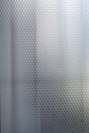 Frosted Glass texture background, White colour, Close up & macro shot, Reflection, Home decor concept