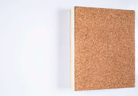 Brown notebook isolated on white background, Close up