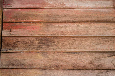 Vintage wooden home Thailand traditional style, close up
