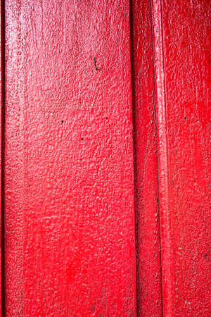 Painted old wooden wall, Thailand traditional style, red background