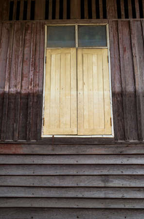 Vintage wooden home Thailand traditional style
