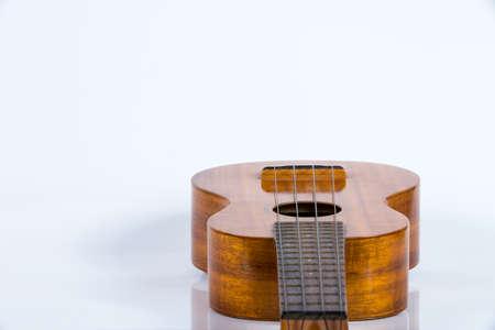 Ukulele guitar isolated on white background