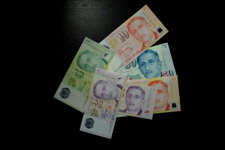 bank note: Singapore Dollar Bank Note