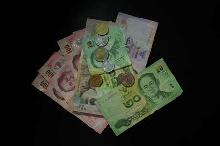 bank note: Thai Baht Bank Note and Coins