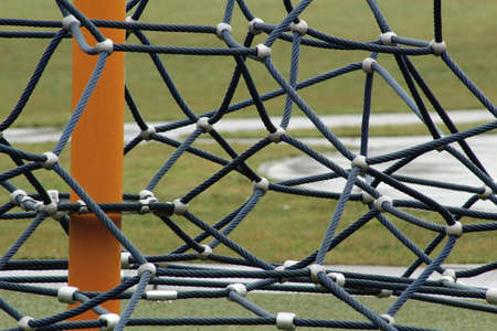 Web of heavy wires. Stok Fotoğraf