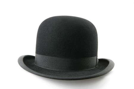 black bowler hat  photo