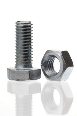 Bolt with metal nut