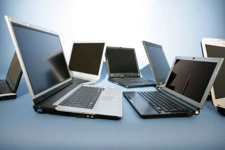 Laptops Stock Photo - 9320010