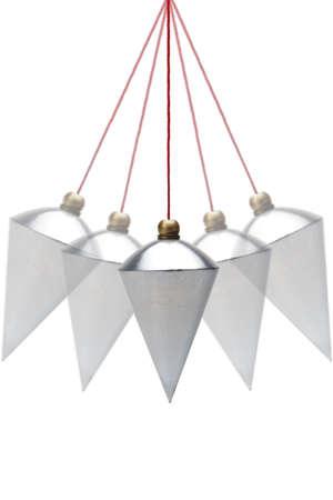 perpendicular: Pendolino in movimento su sfondo bianco