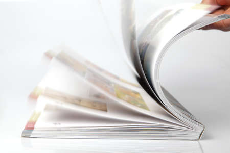 read magazine: Open magazine