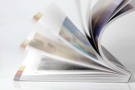 publishes: Open magazine
