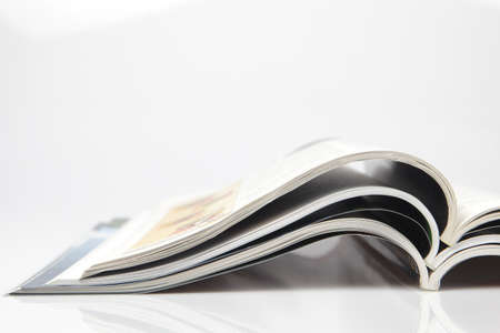 Open magazines Imagens