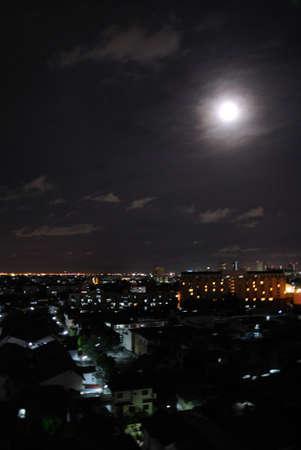 city scape: city scape night scene