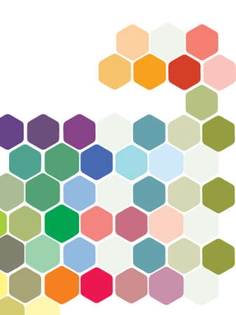 Multicoloured Background Vector