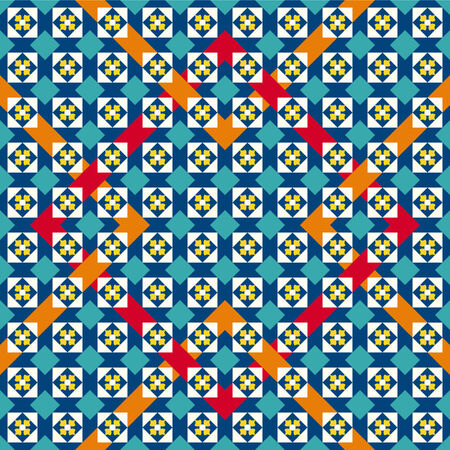 braiding: Moorish pattern Seamless Background