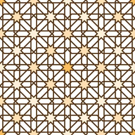 moorish: Moorish Star Seamless Pattern Background