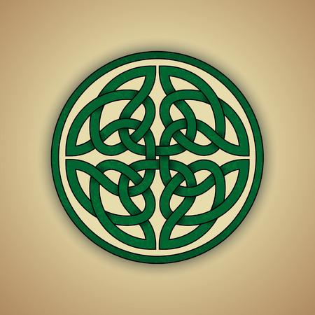 Celtic Knot Symbol of Eternity Vector