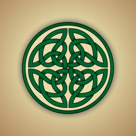 keltische muster: Keltische Knoten-Symbol der Ewigkeit
