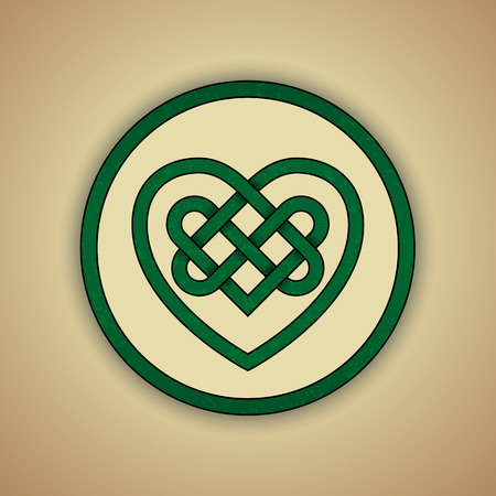 Celtic Knot Symbol of Eternity Vector