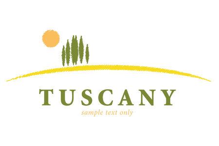 Tuscany Landscape Company Logo