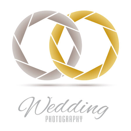 Wedding Photography Vector Design Template Stock Vector - 29437585