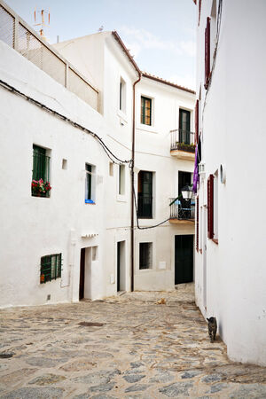 backstreet: Backstreet at the old town of Eivissa