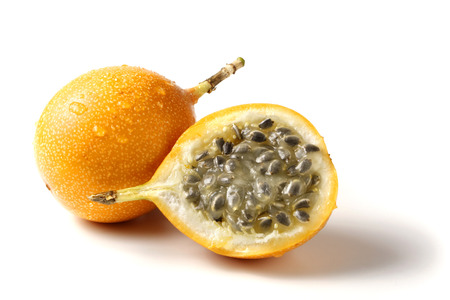 a whole and a half grenadilla - passion fruit photo